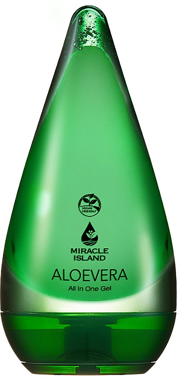 "Gél testre és arcra ""Aloe Vera"" - Miracle Island Aloevera 99% All In One Gel"