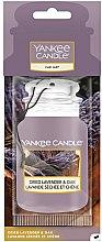 Parfüm, Parfüméria, kozmetikum Autóillatosító - Yankee Candle Car Jar Dried Lavender & Oak