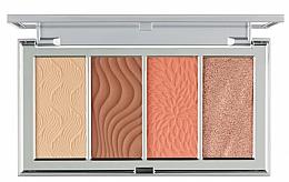Parfüm, Parfüméria, kozmetikum Kontúrozó paletta - PUR 4-In-1 Skin Perfecting Powders Face Palette