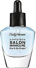 Parfüm, Parfüméria, kozmetikum Gyorsan száradó fedőlakk - Sally Hansen Salon Manicure Dry And Go Drops