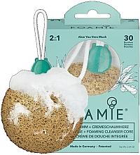 Parfüm, Parfüméria, kozmetikum Gyengéd tisztító szivacs tusfürdővel - Foamie Aloe You Vera Much Shower Sponge