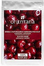 """Parfüm, Parfüméria, kozmetikum Szemkörnyékápoló maszk """"Japán meggy"""" - Orientana Eye Silk Pad Japanese Cherry"""