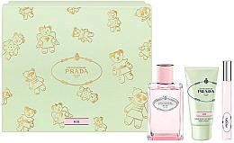 Parfüm, Parfüméria, kozmetikum Prada Infusion De Rose 2017 - Szett (edp/100ml + h/cr/50 + edp/10ml)