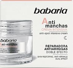 Parfüm, Parfüméria, kozmetikum Intenzív arckrém - Babaria Anti-Dark Spot Intensive Cream