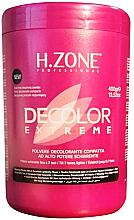 Parfüm, Parfüméria, kozmetikum Színtelenítő hajpor - H.Zone Decolor Extreme