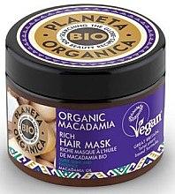 Parfüm, Parfüméria, kozmetikum Maszk a fénylő hajért - Planeta Organica Organic Macadamia Rich Hair Mask