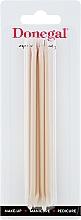 Parfüm, Parfüméria, kozmetikum Manikűr narancs pálcika 12 cm, 9208 - Donegal