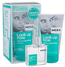 Parfüm, Parfüméria, kozmetikum Mexx Look Up Now for Him - Szett (edt 50ml + sh/gel 150ml)