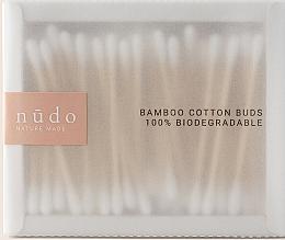 Parfüm, Parfüméria, kozmetikum Bambusz kozmetikai pálcikák - Nudo Nature Made Bamboo Cotton Buds