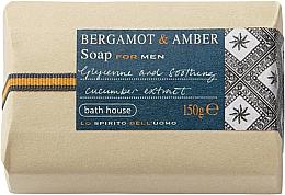Parfüm, Parfüméria, kozmetikum Bath House Bergamot & Amber - Szappan
