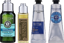 Parfüm, Parfüméria, kozmetikum Készlet - L'Occitane Men Selection (sh/gel/50ml + ash/balm/30ml + /cr/30ml + shmp/75ml + bag)