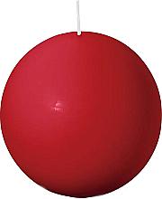 Parfüm, Parfüméria, kozmetikum Gömbölyű gyertya, piros 80 mm - Bolsius Candle