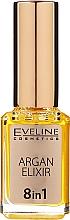Parfüm, Parfüméria, kozmetikum Körömágybőr olaj argánolajjal 8 az 1-ben - Eveline Cosmetics Argan Elixir