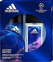 Parfüm, Parfüméria, kozmetikum Adidas UEFA Champions League Victory Edition - Szett (deo/spray/75ml+deo/150ml)