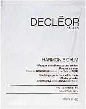 Parfüm, Parfüméria, kozmetikum Arcmaszk - Decleor Harmonie Calm Soothing Comfort Smoothie Mask Shaker Powder