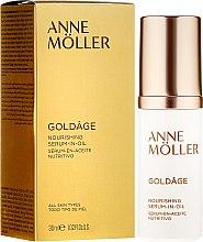 Parfüm, Parfüméria, kozmetikum Arcápoló szérum - Anne Moller Goldage Nourishment Serum-in-Oil