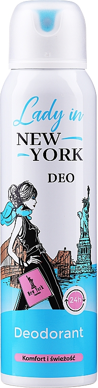 Dezodor - Lady In New York Deodorant