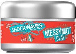 Parfüm, Parfüméria, kozmetikum Hajápoló agyag - Wella Shockwaves Messy Matt Clay