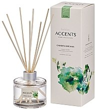 """Parfüm, Parfüméria, kozmetikum Aromadiffúzor """"Paradicsomlevelek, gyógynövények és puha moha"""" - Bolsius Fragrance Diffuser Garden Dreams"""