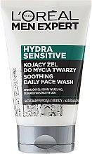 Parfüm, Parfüméria, kozmetikum Nyugtató mosakodó gél - Loreal Paris Men Expert Hydra Sensitive Face Wash