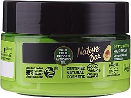 Parfüm, Parfüméria, kozmetikum Intenzív hajápoló maszk - Nature Box Avocado Oil Maska
