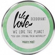 """Parfüm, Parfüméria, kozmetikum Natúr krémdezodor """"Menta"""" - We Love The Planet Mighty Mint Cream Deodorant"""