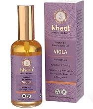 """Parfüm, Parfüméria, kozmetikum """"Ibolya"""" arc- és testápoló olaj - Khadi"""