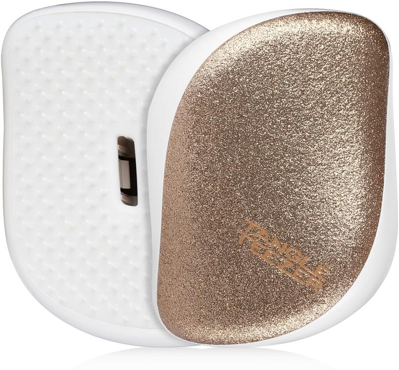 Kompakt hajkefe - Tangle Teezer Compact Styler Glitter Gold