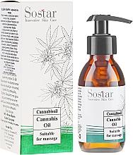 Parfüm, Parfüméria, kozmetikum Masszázsolaj kender kivonattal - Sostar Cannabidiol Oil Cannabis Extract