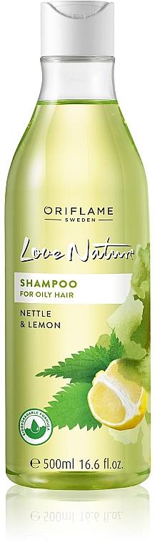 """Sampon zsíros hajra """"Csalán és citrom"""" - Oriflame Love Nature Shampoo — fotó N3"""