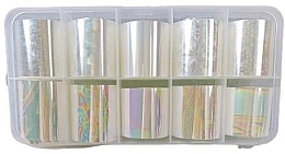 Parfüm, Parfüméria, kozmetikum Körömdíszítő fólia, 10 db. - Deni Carte