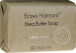 Parfüm, Parfüméria, kozmetikum Szappan zöld olíva kivonattal - Barwa Harmony Green Olive Soap