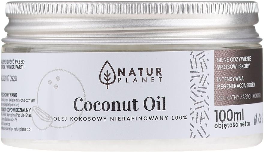 Finomítatlan kókuszolaj - Natur Planet Coconut Oil