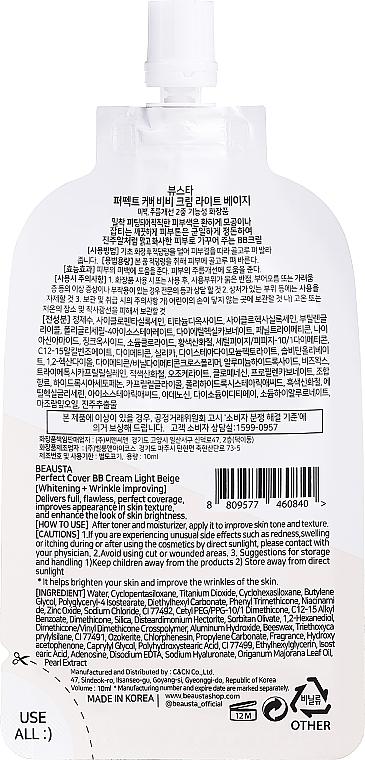 BB-krém arcra - Beausta Perfect Natural BB Cream — fotó N2