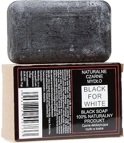 Natúr fekete szappan - Biomika Black For White