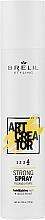 Parfüm, Parfüméria, kozmetikum Erősen fixáló spray - Brelil Art Creator Strong Spray