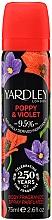 Parfüm, Parfüméria, kozmetikum Yardley Poppy & Violet - Dezodor