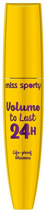 Szempillaspirál - Miss Sporty Volume To Last 24h
