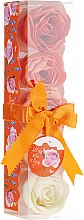 "Parfüm, Parfüméria, kozmetikum Fürdő konfetti ""Narancs"", 5 db - Spa Moments Bath Confetti Orange"