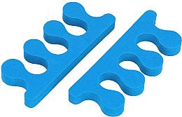Parfüm, Parfüméria, kozmetikum Lábujjelválasztó szivacs, kék - Tools For Beauty Toe Separator Blue