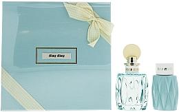 Parfüm, Parfüméria, kozmetikum Miu Miu L'Eau Bleue - Szett (edp/100ml + b/lot/100ml)