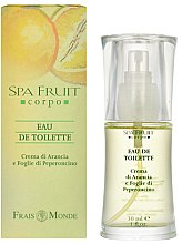 Parfüm, Parfüméria, kozmetikum Frais Monde Spa Fruit Orange And Chilli Leaves - Eau De Toilette