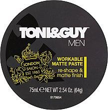 Parfüm, Parfüméria, kozmetikum Mattító hatású modellező paszta - Toni & Guy Men Workable Matte Paste