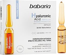 Parfüm, Parfüméria, kozmetikum Hiauloronsav ampulla - Babaria Hyaluronic Acid Ampoule