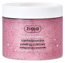 "Parfüm, Parfüméria, kozmetikum Cukros peeling ""Epres mályvacukor"" - Ziaja Sugar Body Peeling"