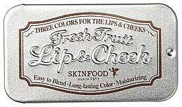 Parfüm, Parfüméria, kozmetikum 2 az 1-ben ajakbalzsam - Skinfood Fresh Fruit Lip & Cheek Trio
