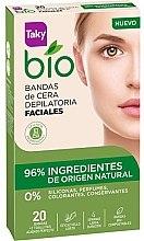 Parfüm, Parfüméria, kozmetikum Arcszőrtelenítő viaszcsíkok - Taky Bio Natural 0% Face Wax Strips