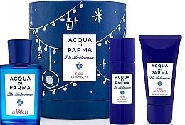 Parfüm, Parfüméria, kozmetikum Acqua di Parma Blu Mediterraneo Fico di Amalfi - Szett (edt/75ml + sh/gel/40ml + b/lot/50ml)