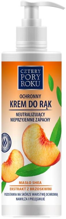 """Kézkrém """"Őszibarack"""" - Cztery Pory Roku Hand Cream"""