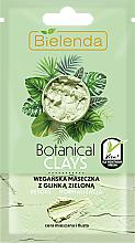 Parfüm, Parfüméria, kozmetikum Maszk kombinált és zsíros bőrre zöld agyaggal - Bielenda Botanical Clays